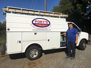 Ports Heating and Air - Truck